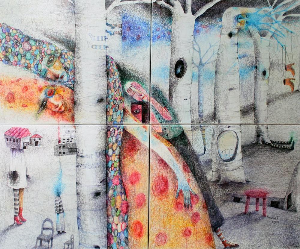 Nascosti dietro un albero e altre alterazioni (2017)